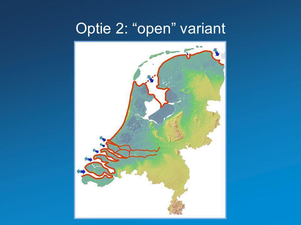 Optie 2: open variant