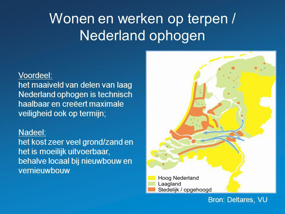 Wonen en werken op terpen / Nederland ophogen