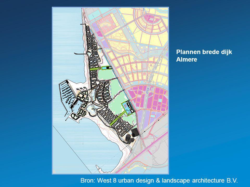 Plannen brede dijk Almere