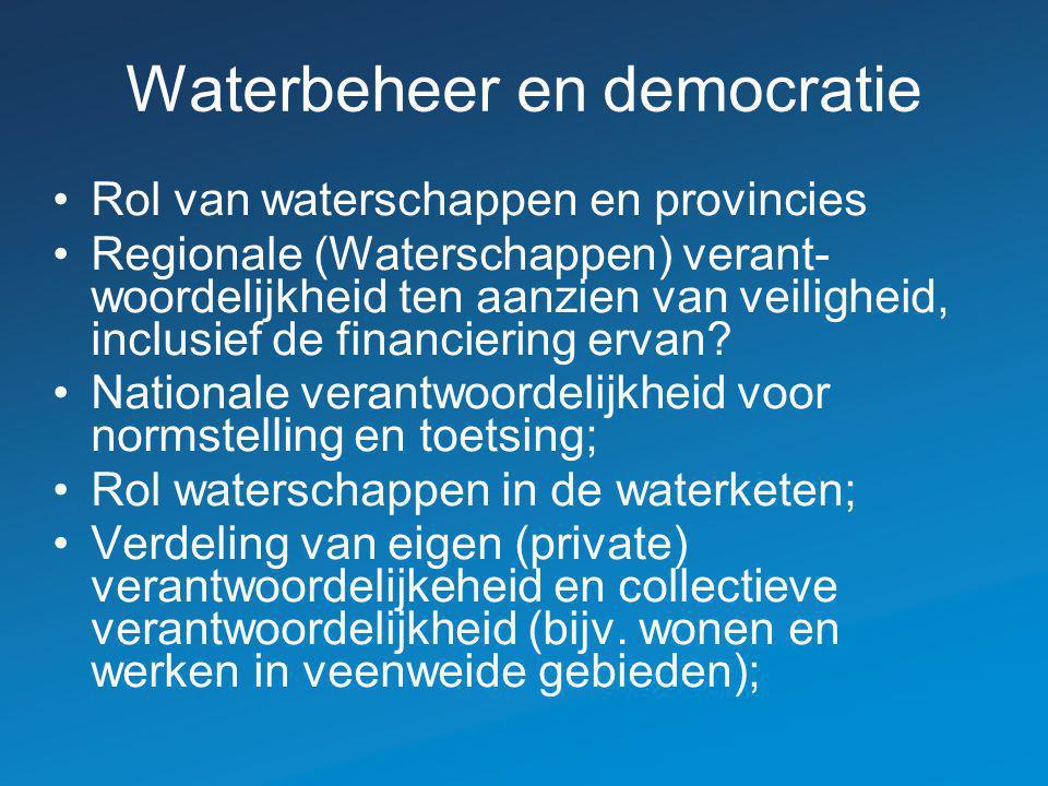 Waterbeheer en democratie