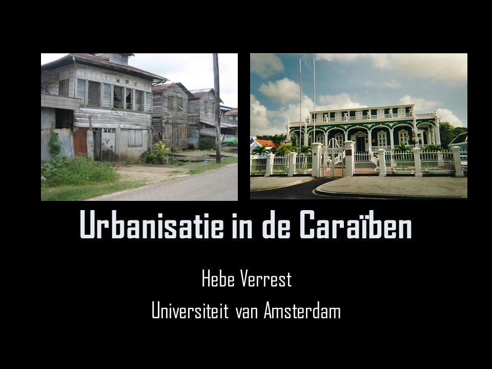 Urbanisatie in de Caraïben