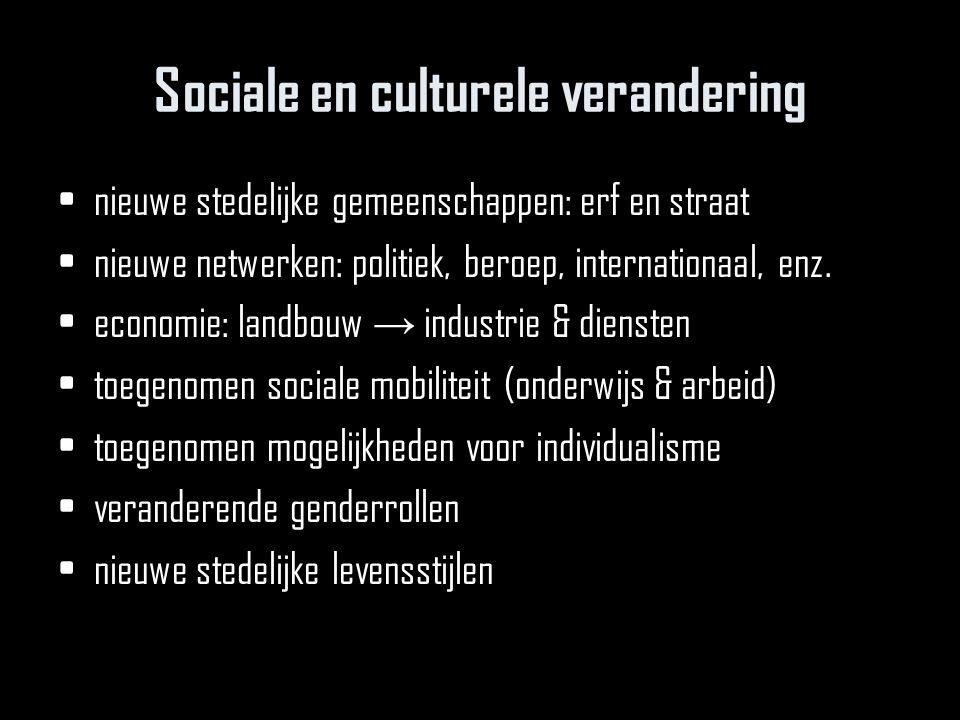 Sociale en culturele verandering