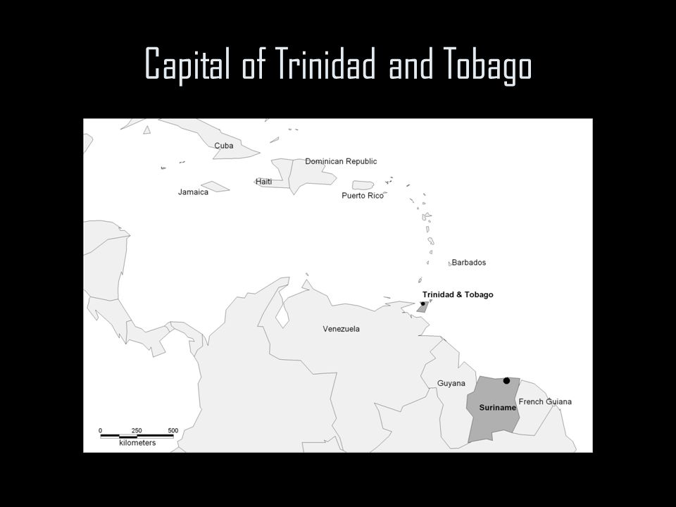Capital of Trinidad and Tobago