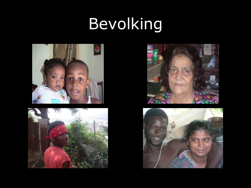 Bevolking De bevolking van Trinidad is zeer gemengd: