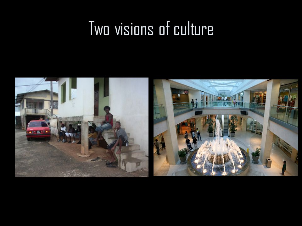 Two visions of culture
