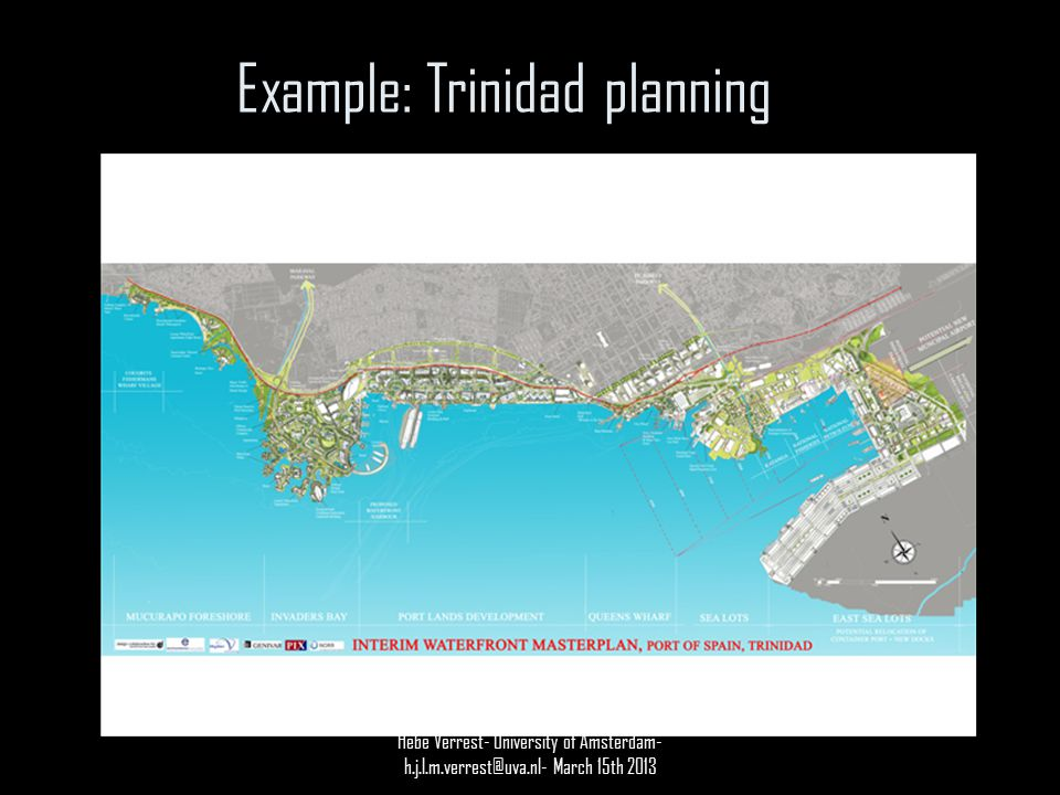 Example: Trinidad planning