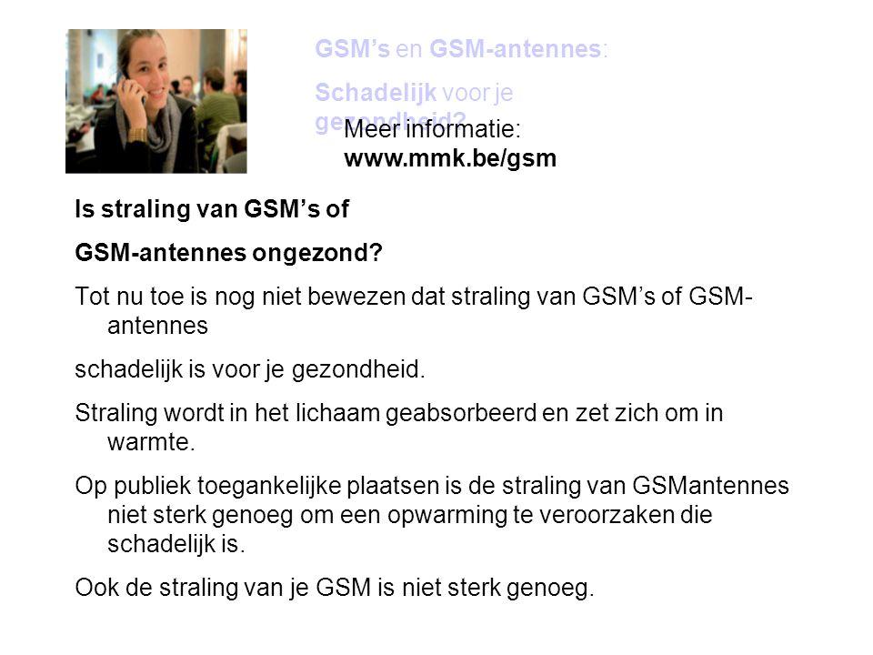 GSM's en GSM-antennes: