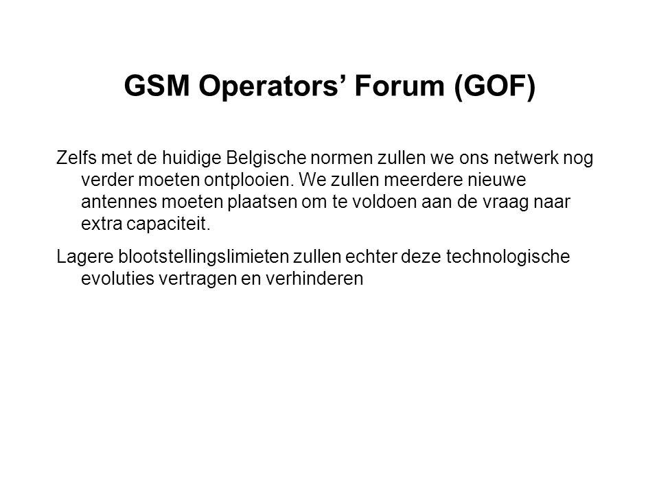 GSM Operators' Forum (GOF)