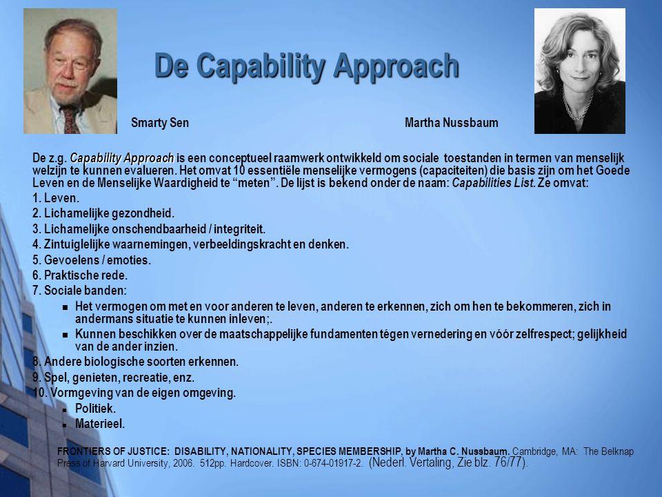 De Capability Approach