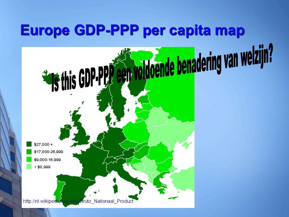 Is this GDP-PPP een voldoende benadering van welzijn