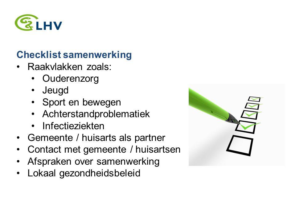 Checklist samenwerking