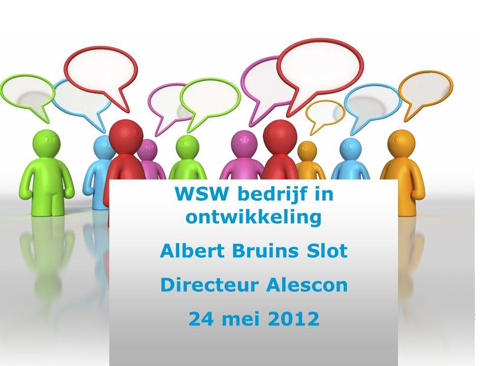 WSW bedrijf in ontwikkeling