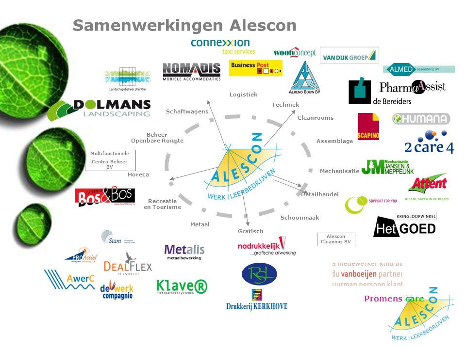 Samenwerkingen Alescon