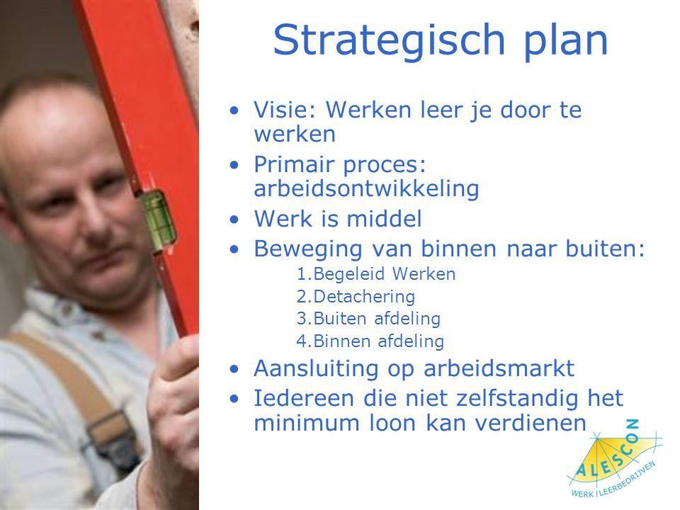 Strategisch plan Visie: Werken leer je door te werken