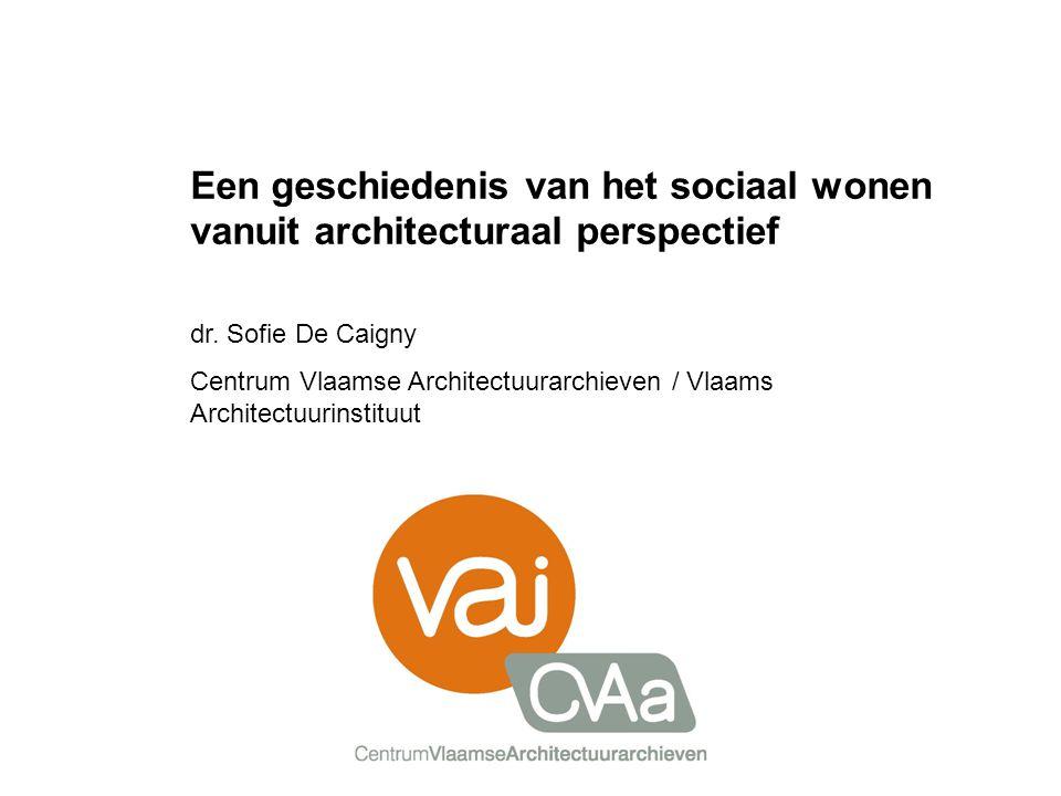 Een geschiedenis van het sociaal wonen vanuit architecturaal perspectief