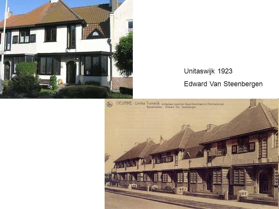 Unitaswijk 1923 Edward Van Steenbergen