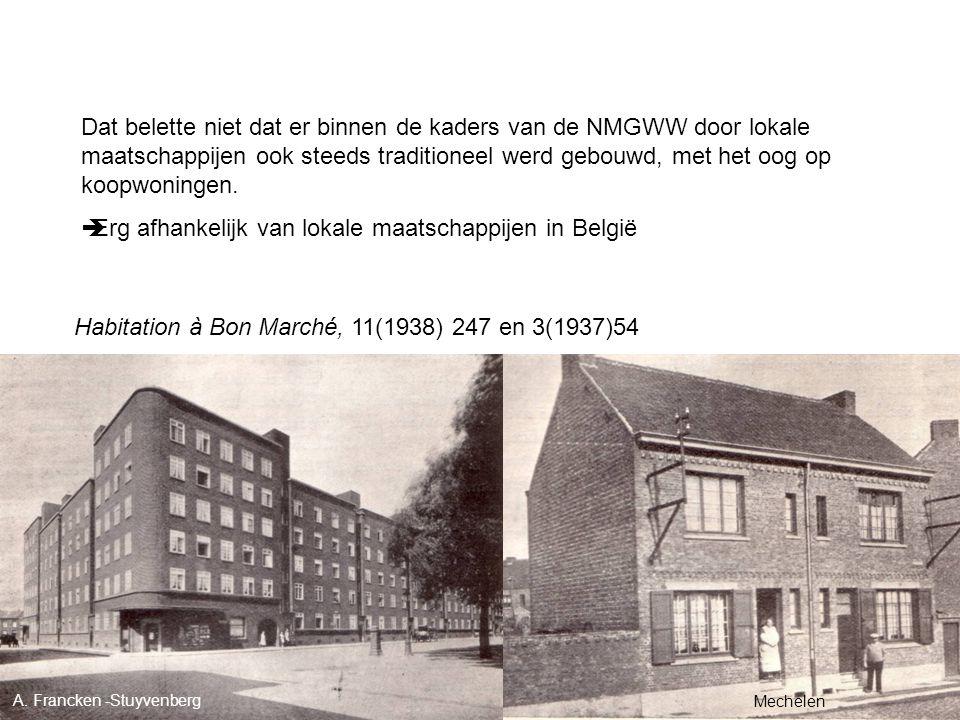 Erg afhankelijk van lokale maatschappijen in België