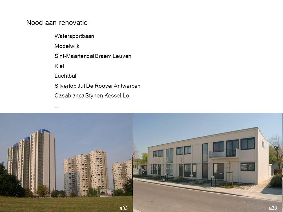 Nood aan renovatie Watersportbaan Modelwijk