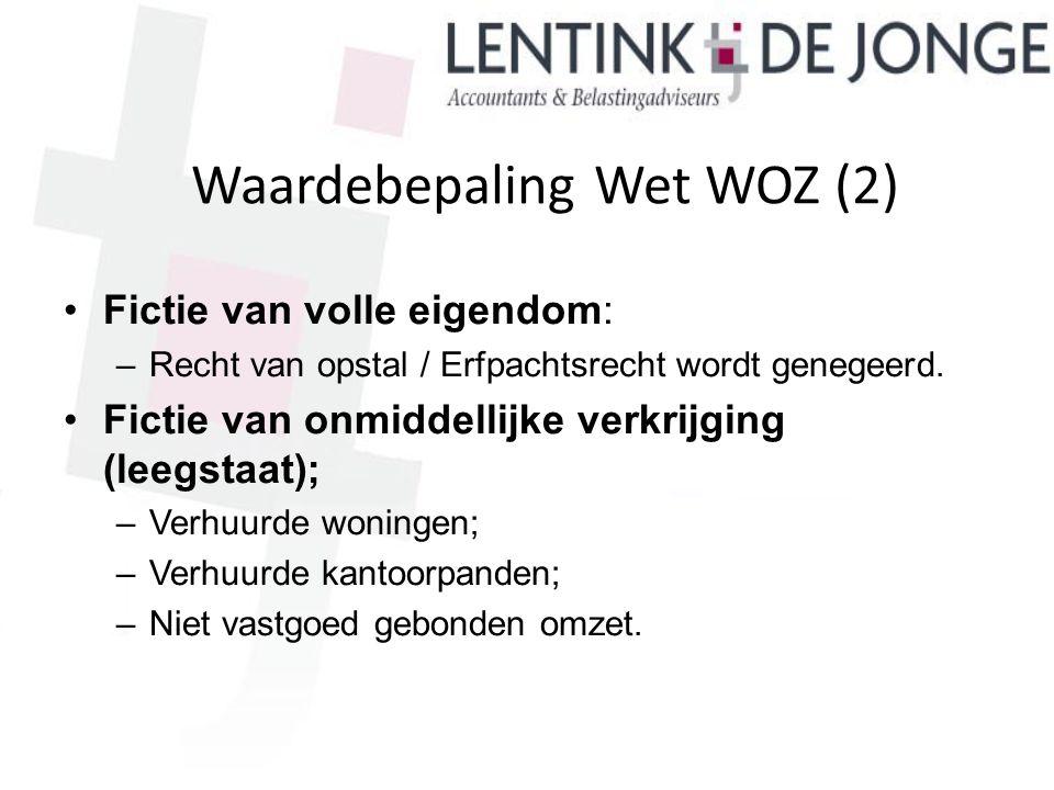 Waardebepaling Wet WOZ (2)