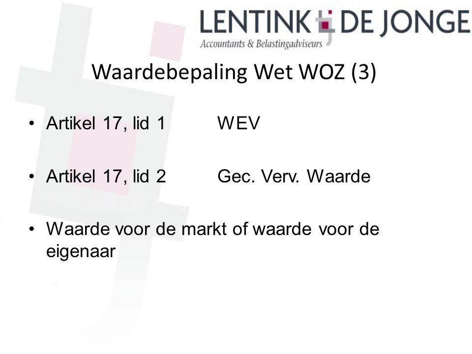 Waardebepaling Wet WOZ (3)