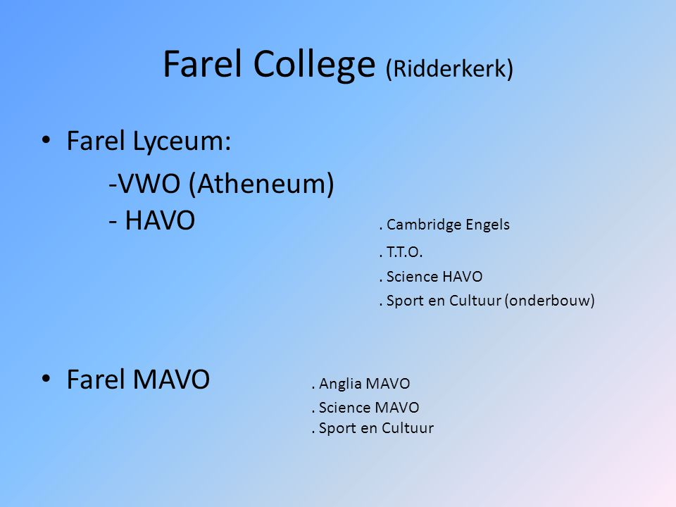 Farel College (Ridderkerk)