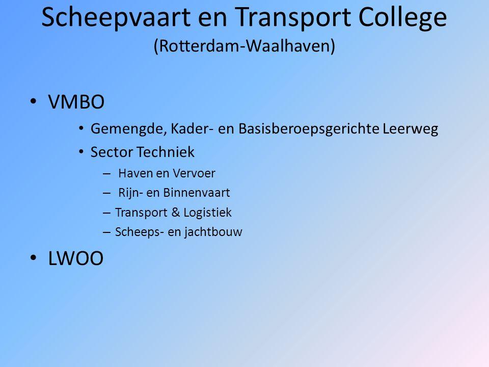 Scheepvaart en Transport College (Rotterdam-Waalhaven)