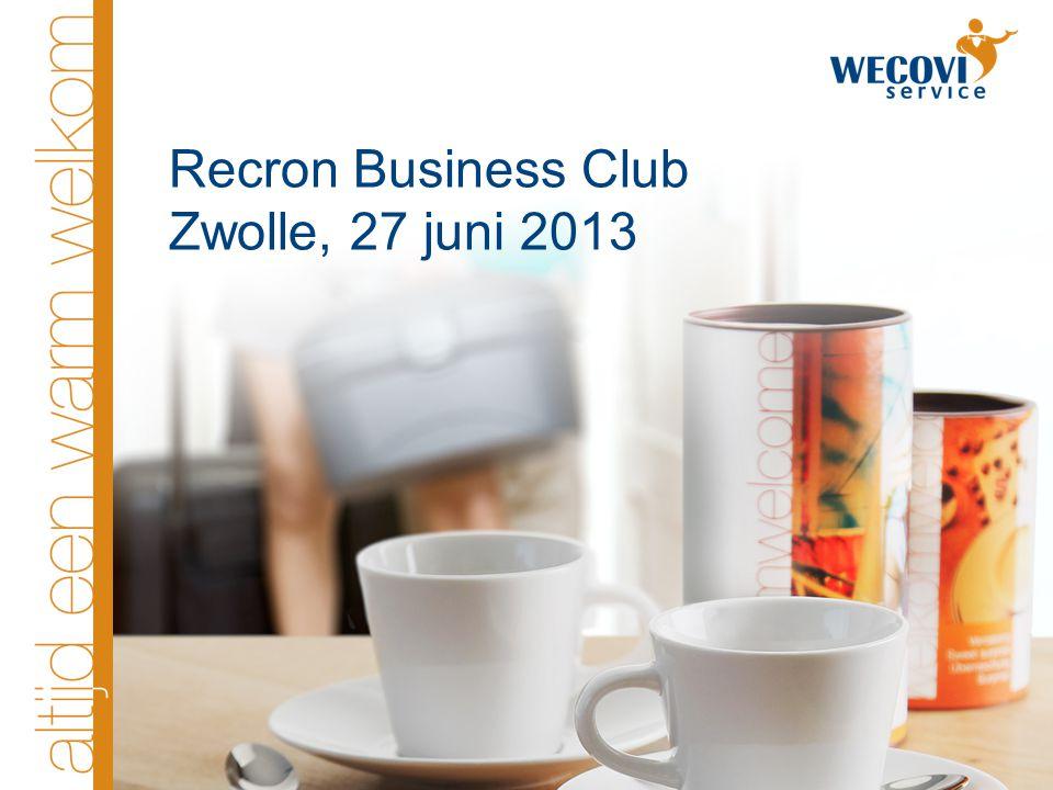 Recron Business Club Zwolle, 27 juni 2013
