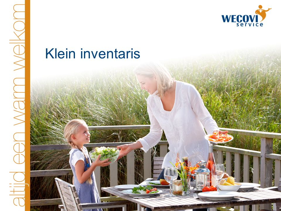 Klein inventaris