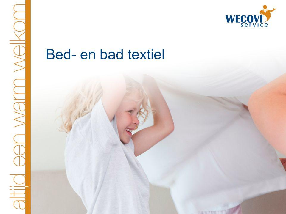 Bed- en bad textiel