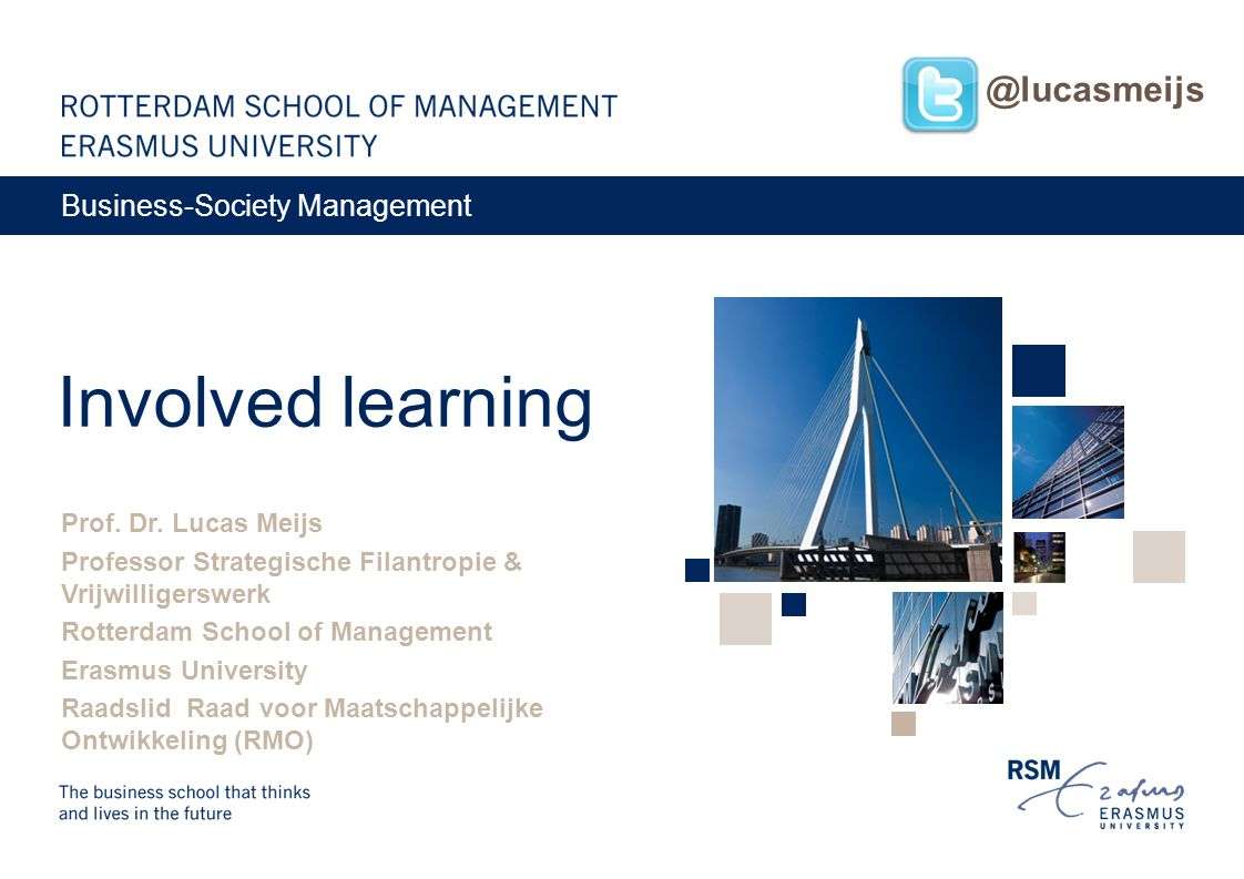 Involved learning @lucasmeijs Business-Society Management