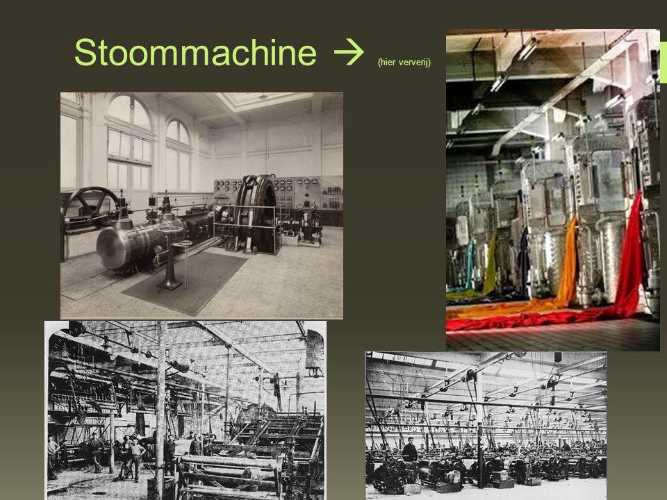 Stoommachine  (hier ververij)