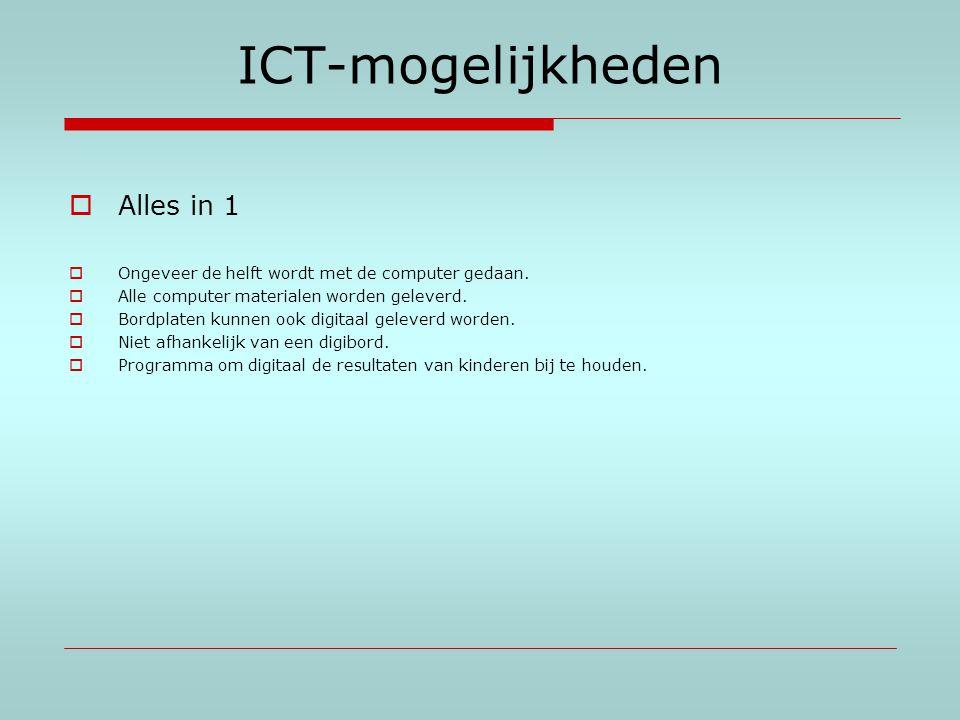 ICT-mogelijkheden Alles in 1