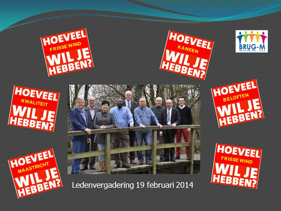 Ledenvergadering 19 februari 2014