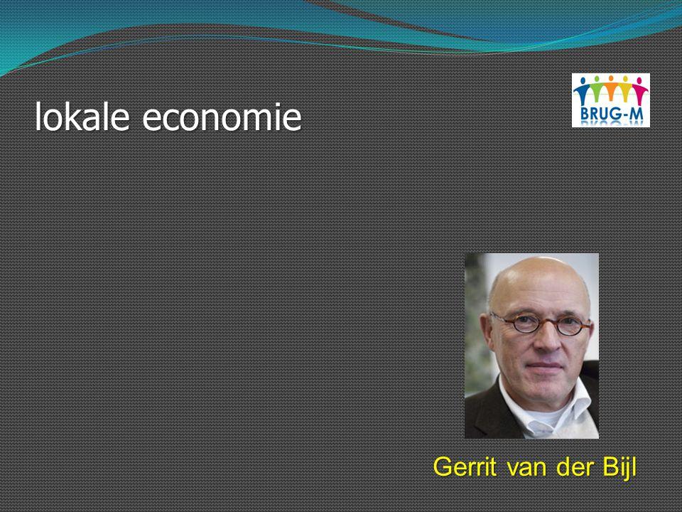 lokale economie Gerrit van der Bijl