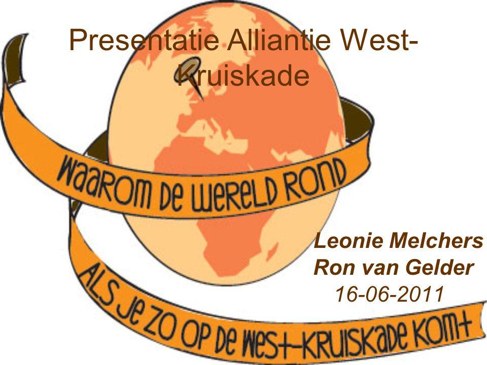 Presentatie Alliantie West- Kruiskade