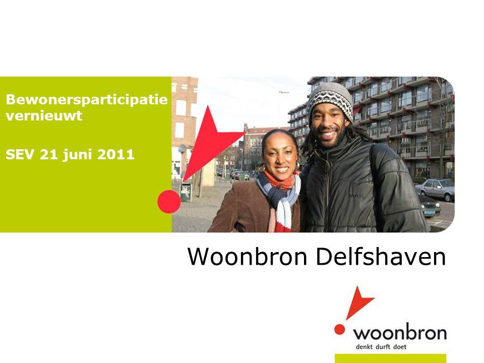 Bewonersparticipatie vernieuwt SEV 21 juni 2011