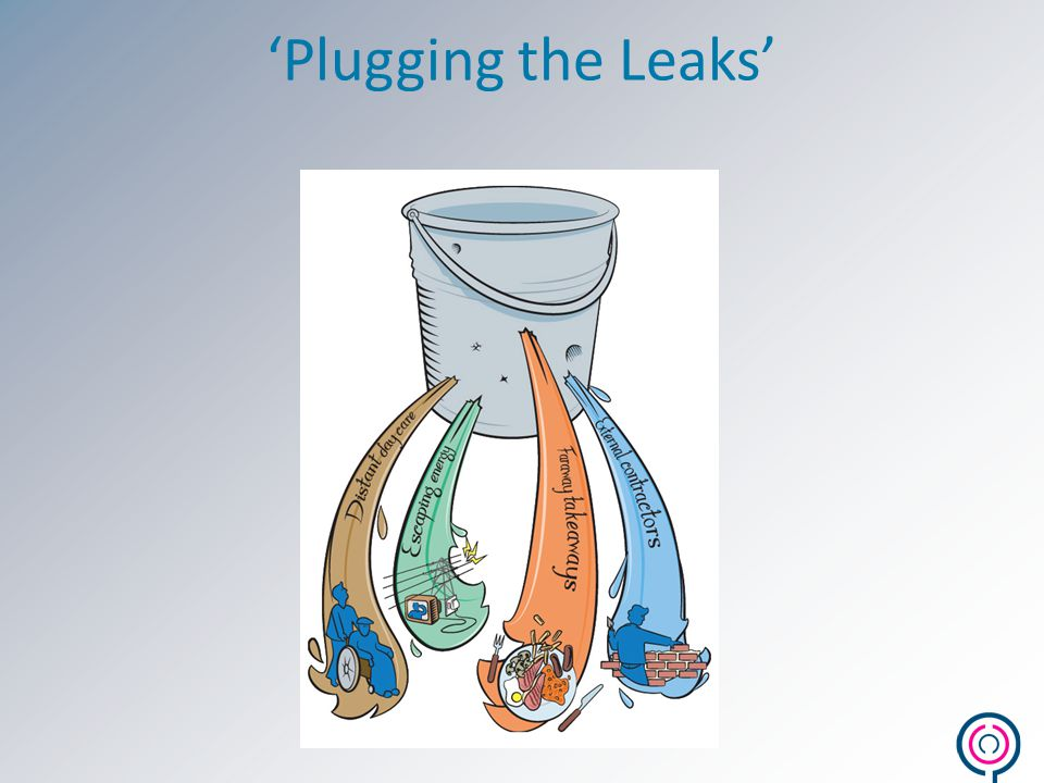 'Plugging the Leaks'