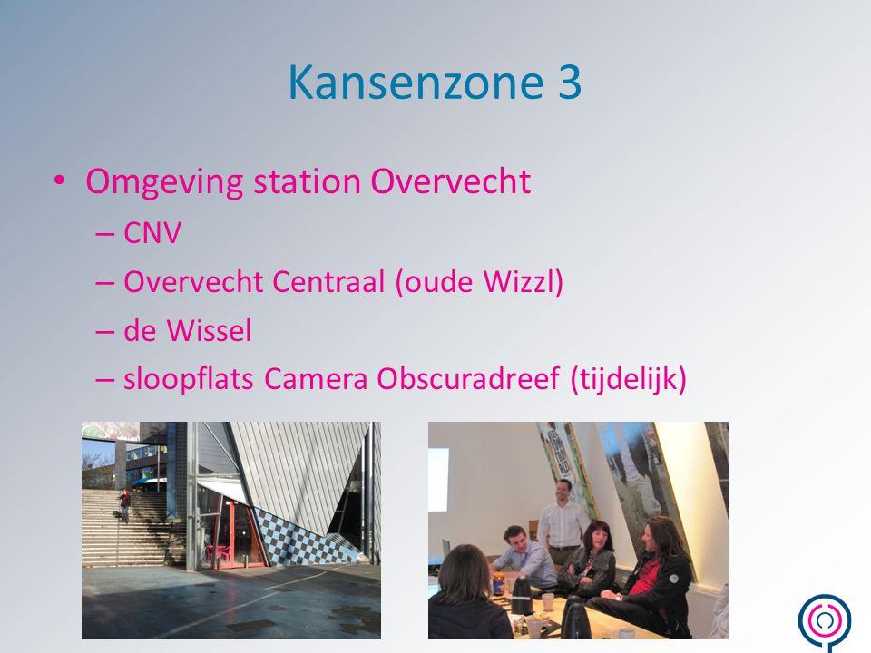 Kansenzone 3 Omgeving station Overvecht CNV