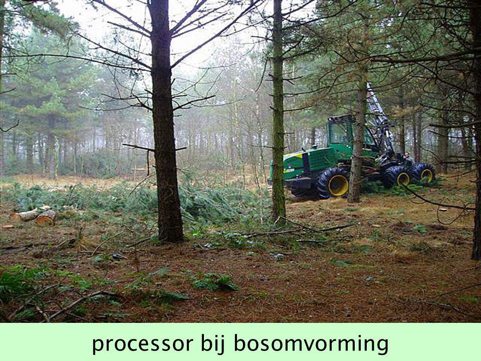 processor bij bosomvorming