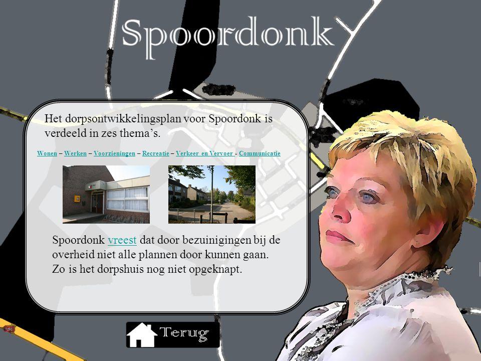 Het dorpsontwikkelingsplan voor Spoordonk is verdeeld in zes thema's.