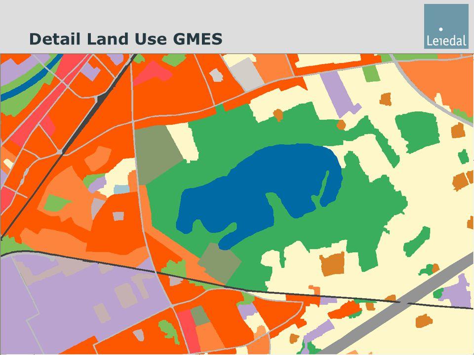 Detail Land Use GMES