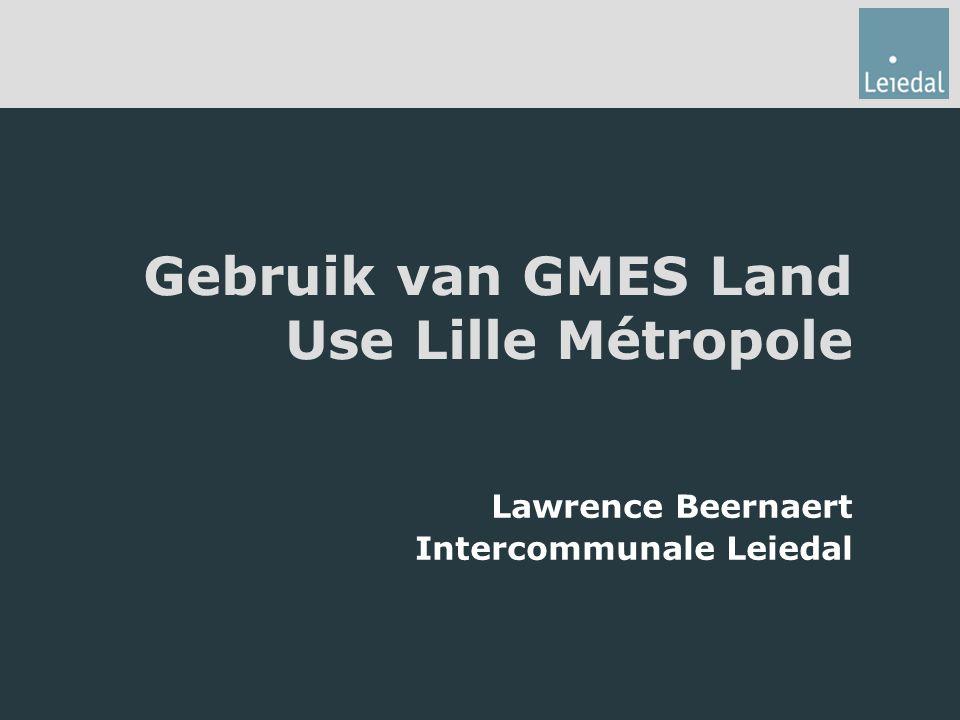 Gebruik van GMES Land Use Lille Métropole