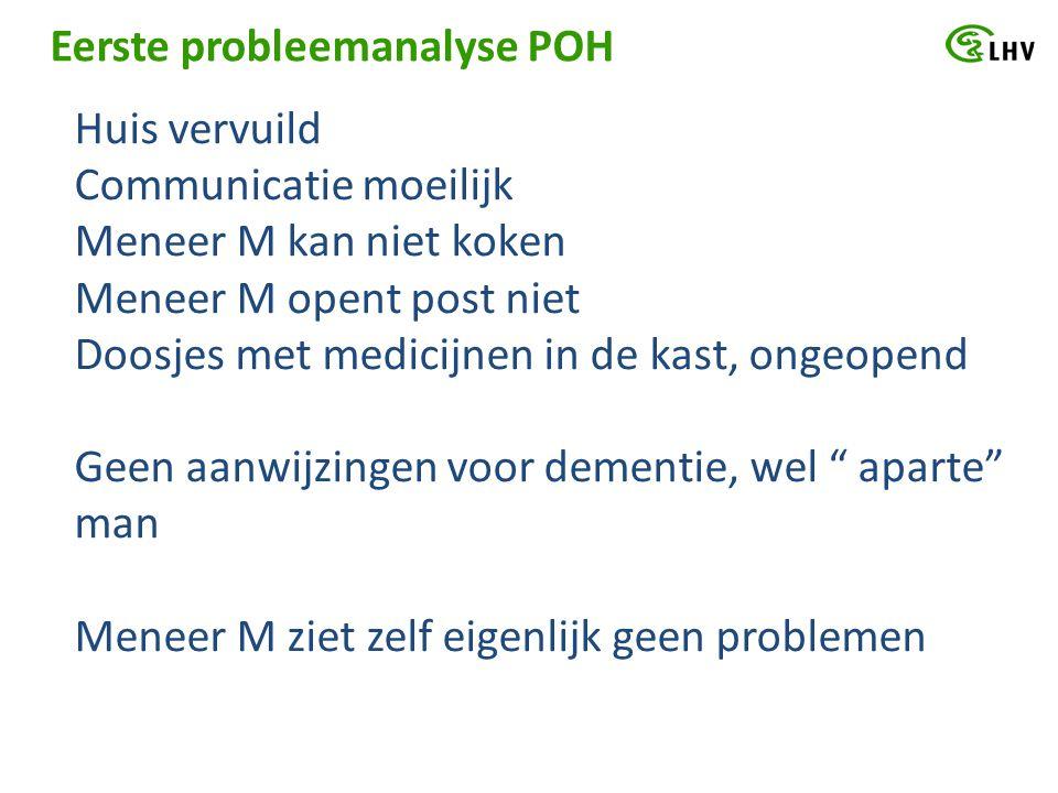 Eerste probleemanalyse POH