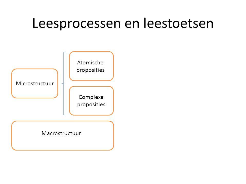 Leesprocessen en leestoetsen