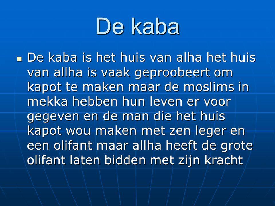 De kaba