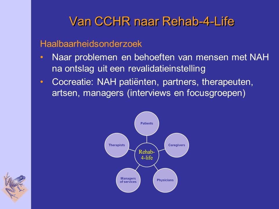 Van CCHR naar Rehab-4-Life
