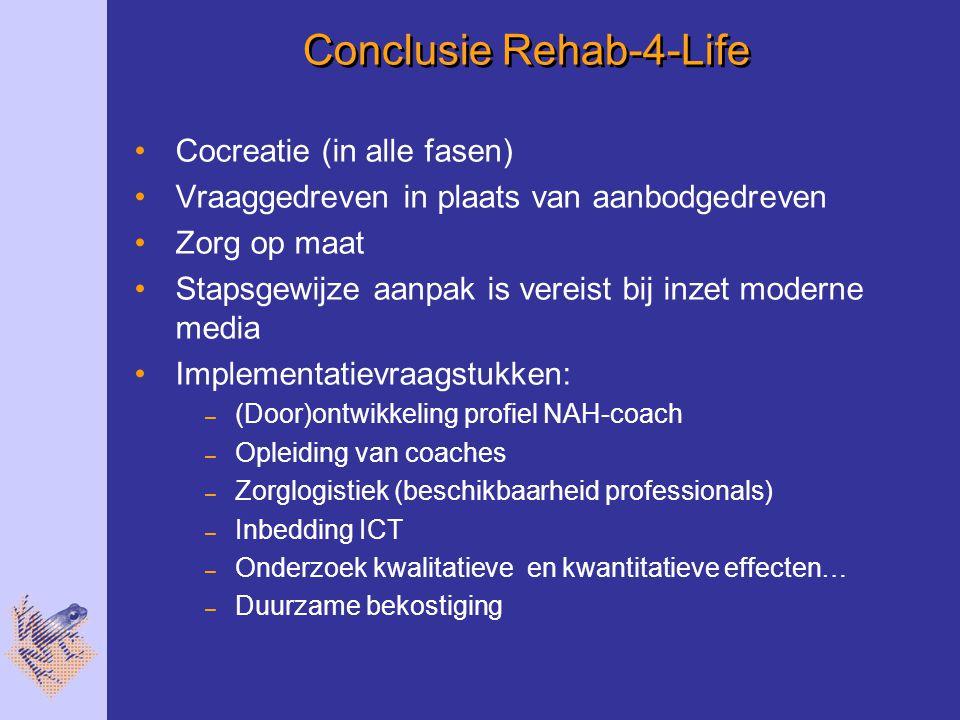 Conclusie Rehab-4-Life