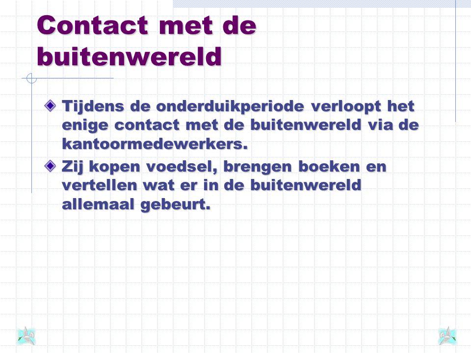 Contact met de buitenwereld