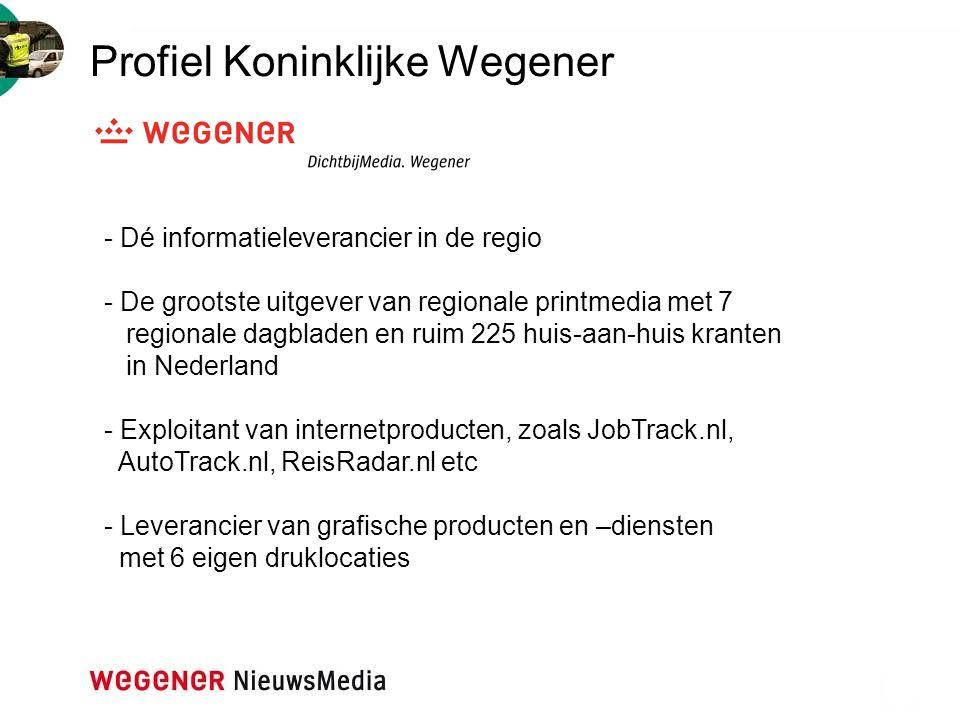 Profiel Koninklijke Wegener