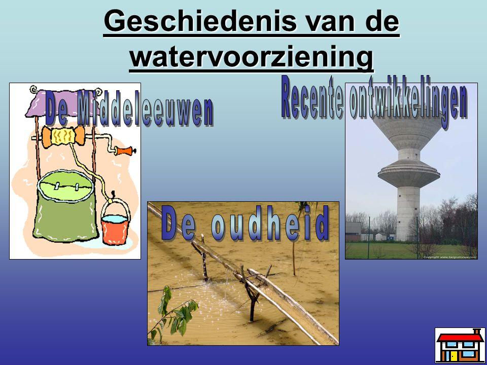Geschiedenis van de watervoorziening